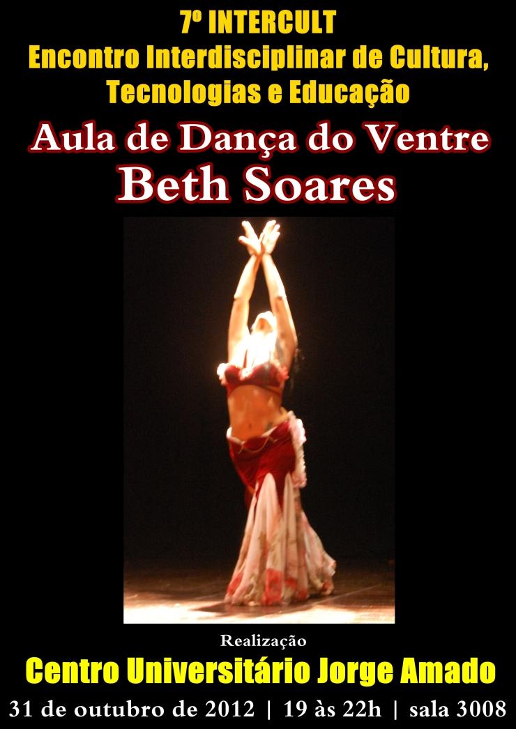 Aula com Beth Soares na Faculdade Jorge Amado dia 31 de outubro